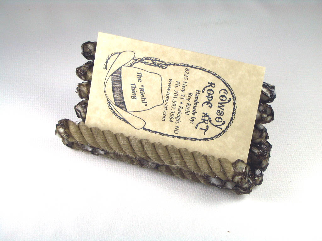 Rope Rope Card Holder #013