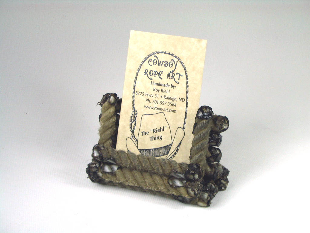 Rope Card Holder #014