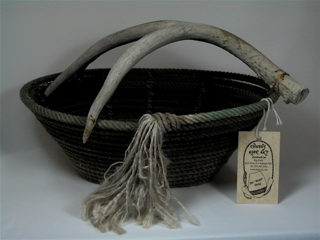 Rope Basket #019